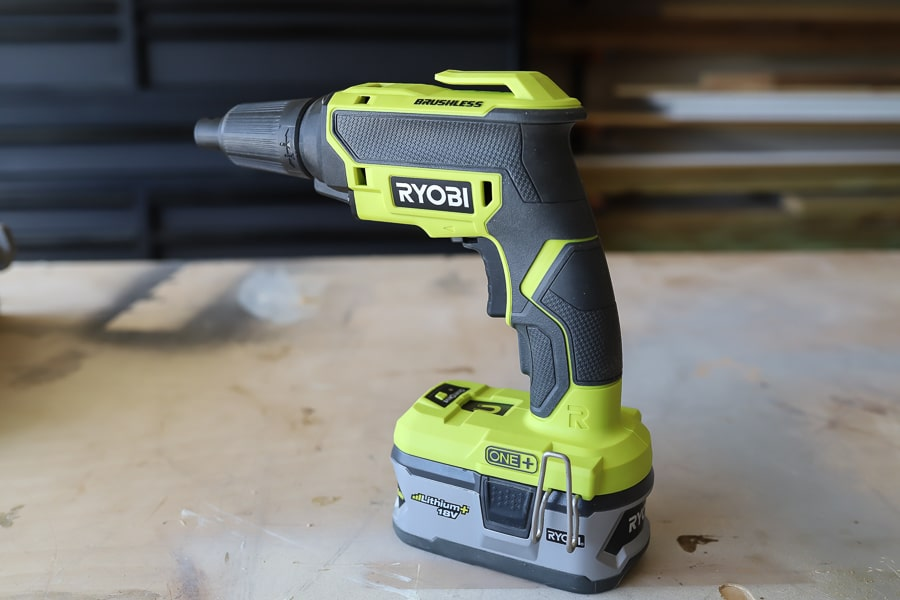 RYOBI drywall screw gun review