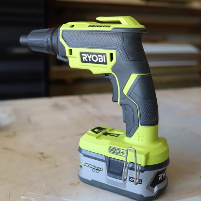 RYOBI 18v ONE+ Brushless Drywall Screw Gun Review