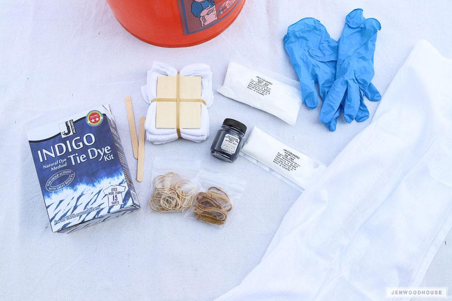DIY-shibori-napkins