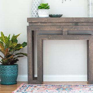 Ballard Designs-Inspired Console Table