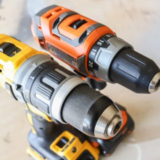 Dewalt vs. Ridgid Drill Driver Combo Kit Tool Comparison