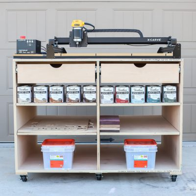 Mobile Workbench with Drawers