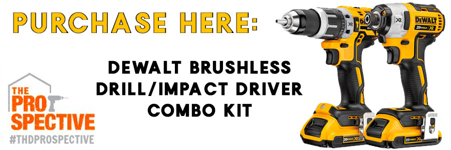 Dewalt 20v Brushless Drill Driver And Impact Combo Kit