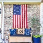 Patriotic Porch Decor