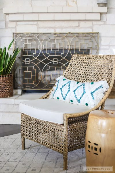 Summer decor ideas for the living room
