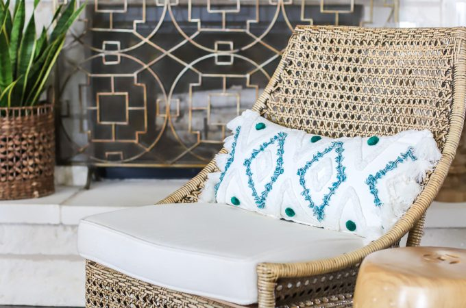 Summer decor ideas for the living room