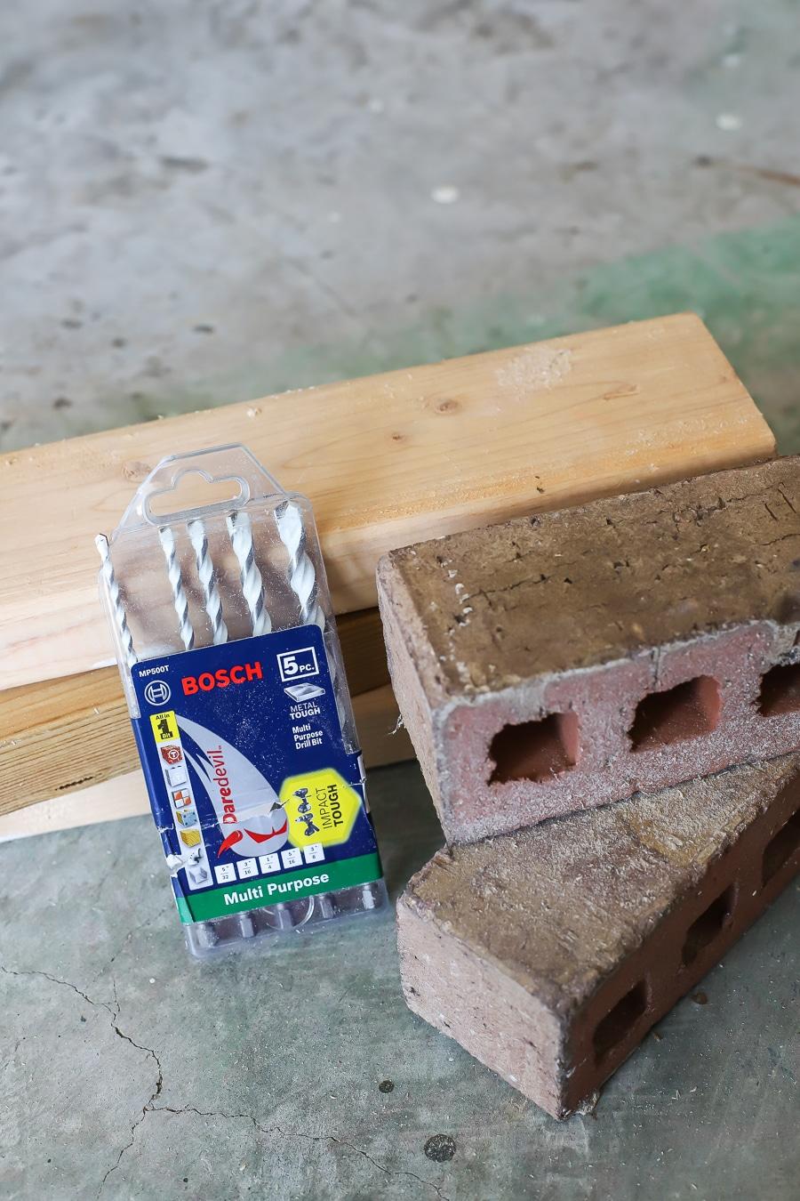 Bosch multi-purpose drill bits