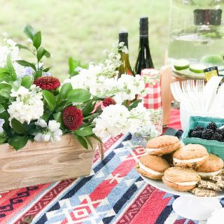 How to make a patriotic Fourth of July Centerpiece