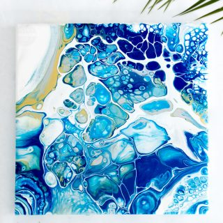 Create Easy Art with Acrylic Pouring