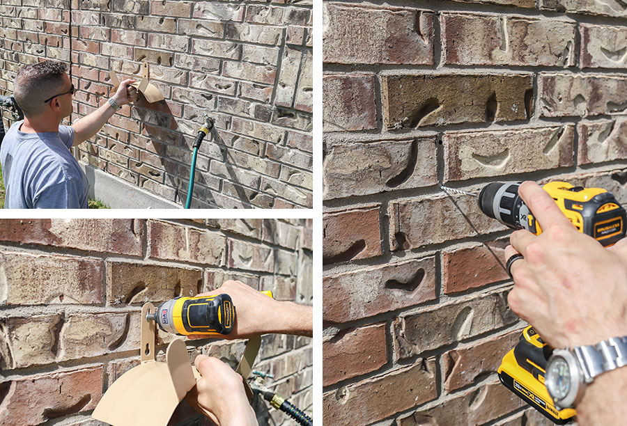 Use the Bosch Multi-Purpose Drill Bit to drill into brick, masonry, and concrete