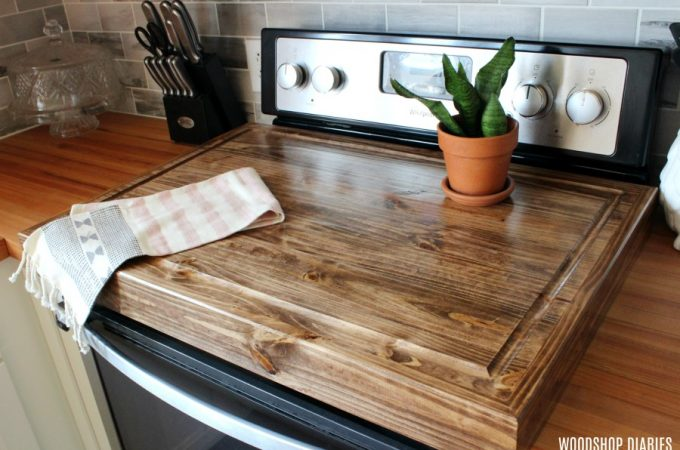 How to Build a Wooden Stove Top Cover