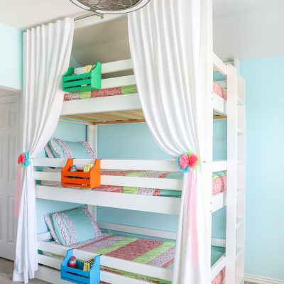 How to build a DIY Triple Bunk Bed