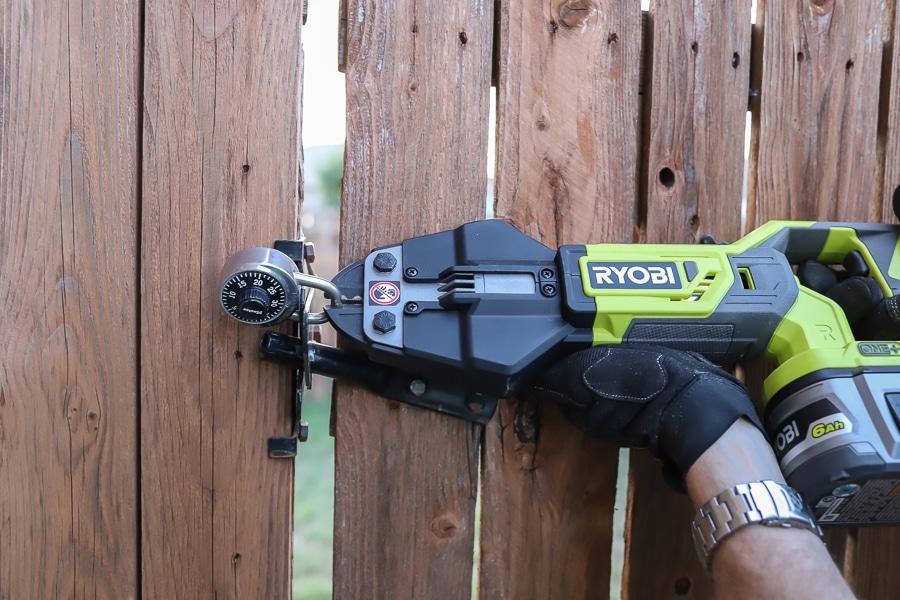 RYOBI bolt cutters review
