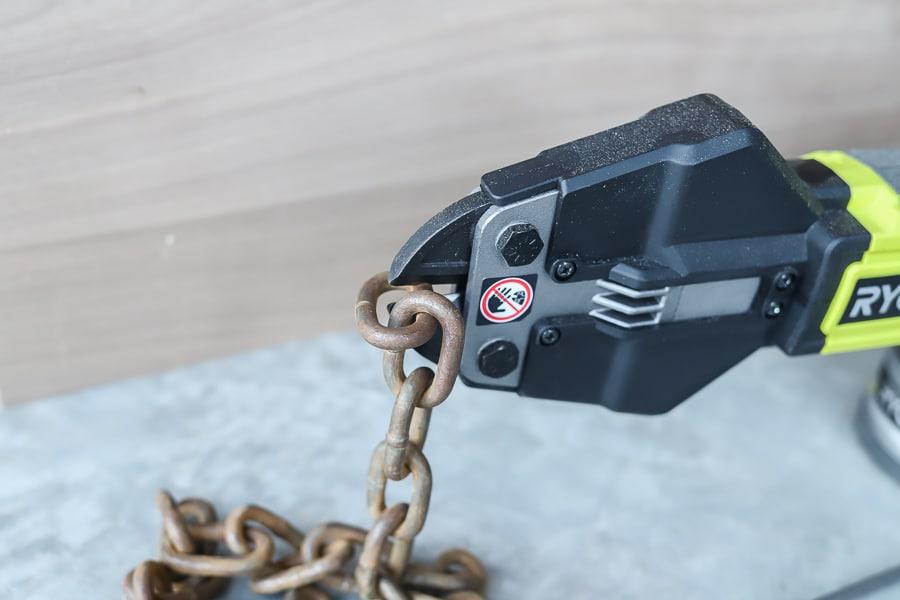 Ryobi bolt cutters tool review