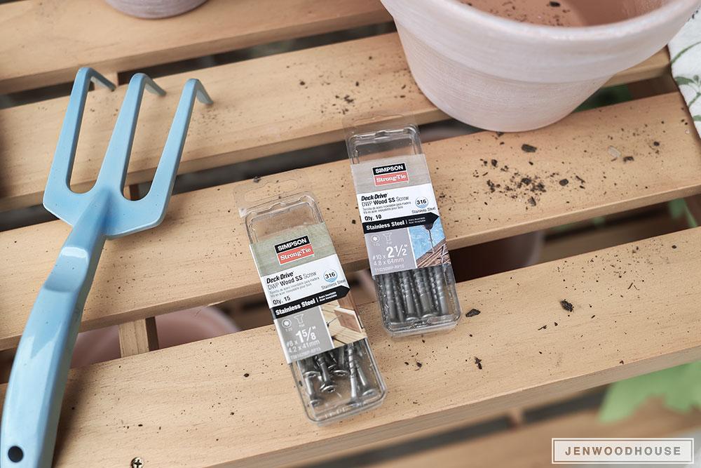 DIY Potting Bench Potting Table