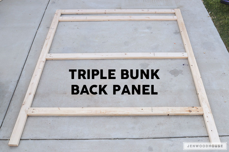 How To Build DIY Triple Bunk Beds