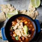 30-Minute Authentic Chicken Tortilla Soup