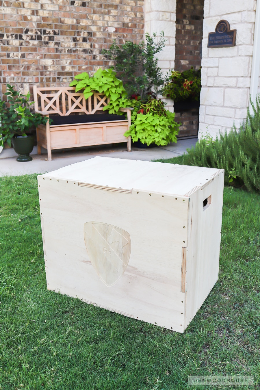 DIY 3-in-1 plyo box for box jumps plyometric workouts