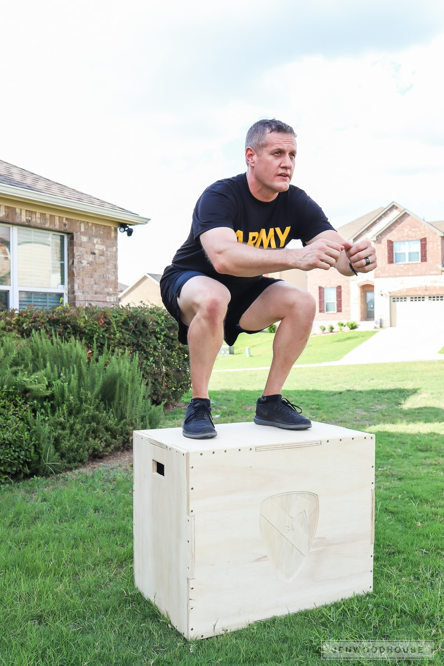 How to make a DIY Plyometric Box for Box Jump Exercises