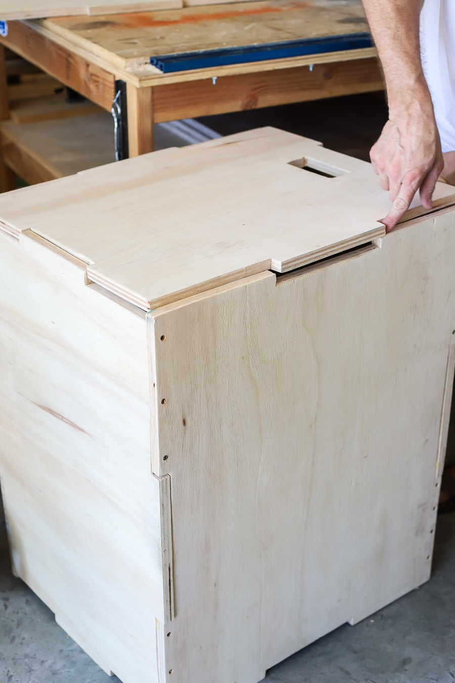 How to make a DIY plyo box jump