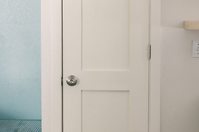 Learn how to make your own DIY two panel shaker style door!