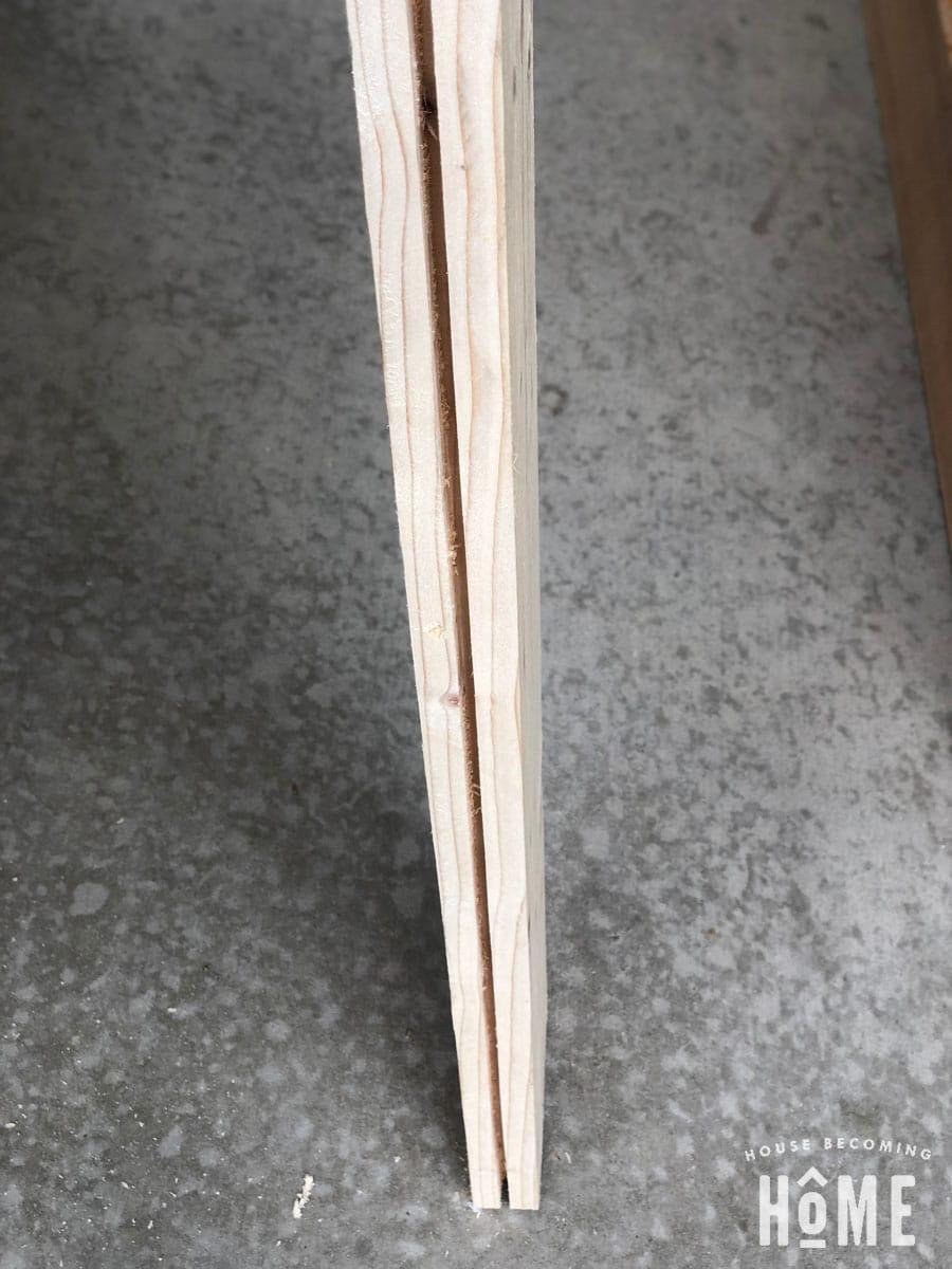 DIY Door Groove