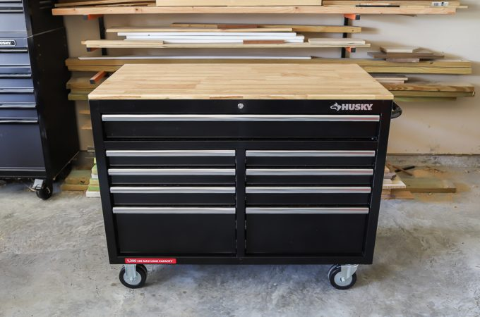 Husky Mobile Workbench Review