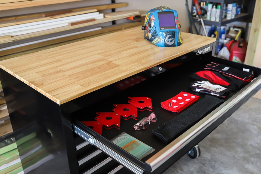 Tool chest review - Husky Mobile Workbench
