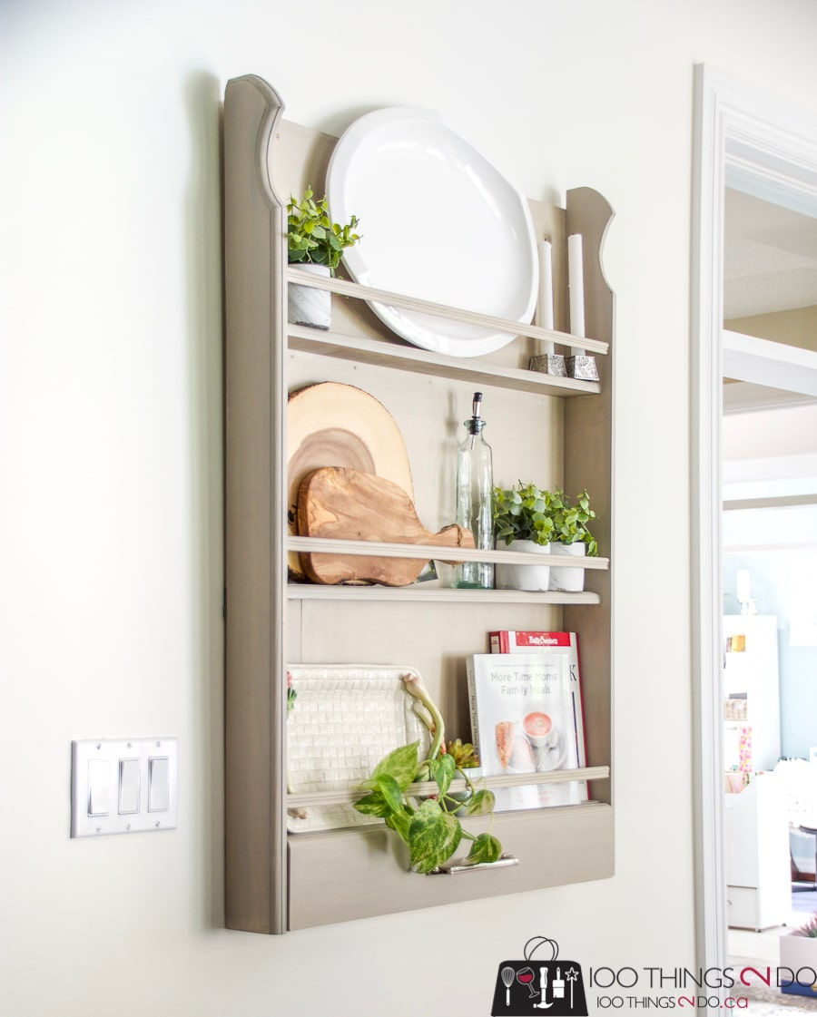Wonderful How To Build A DIY Plate Rack