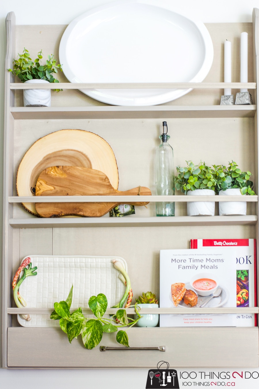 How To Build A Diy Plate Rack Out Of S Wood