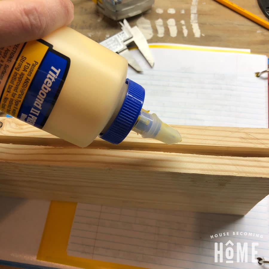 Wood Glue Into Door Groove