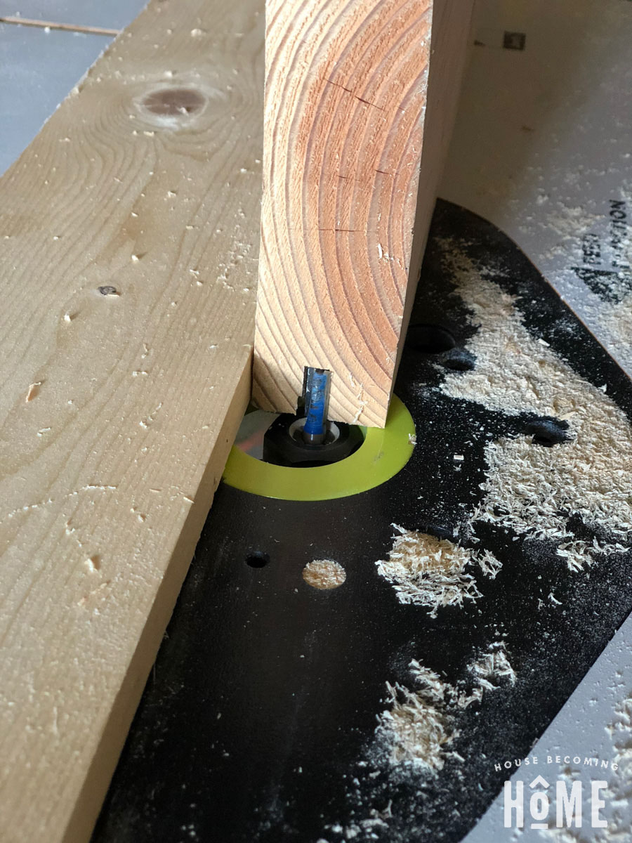 Routing Door Pieces