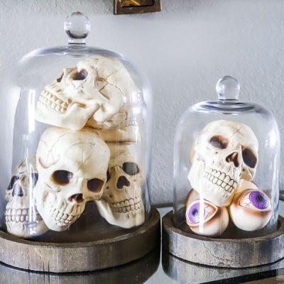 Spooky Halloween Entryway