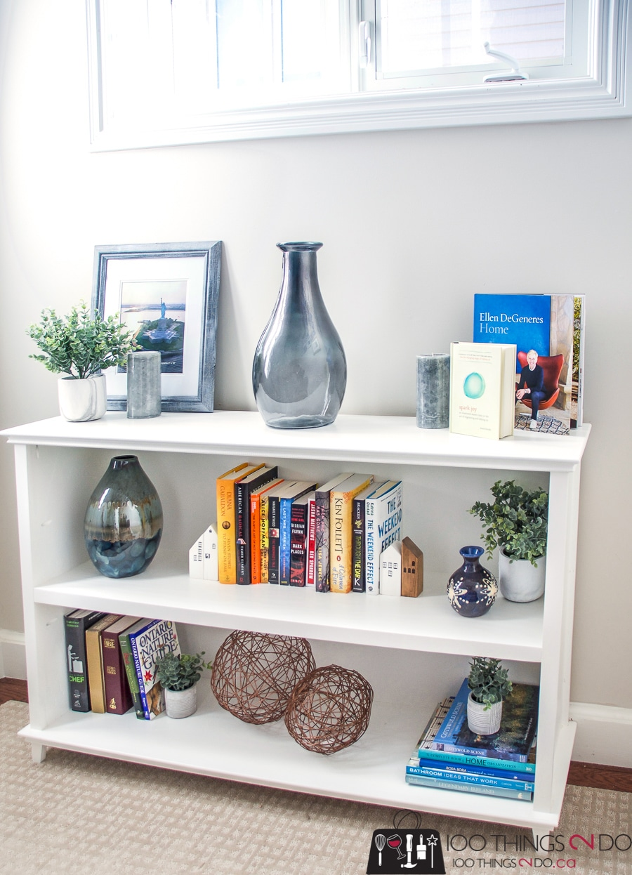 How to build a DIY low bookcase