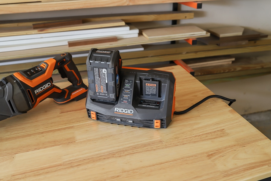 Ridgid 6Ah battery tool review