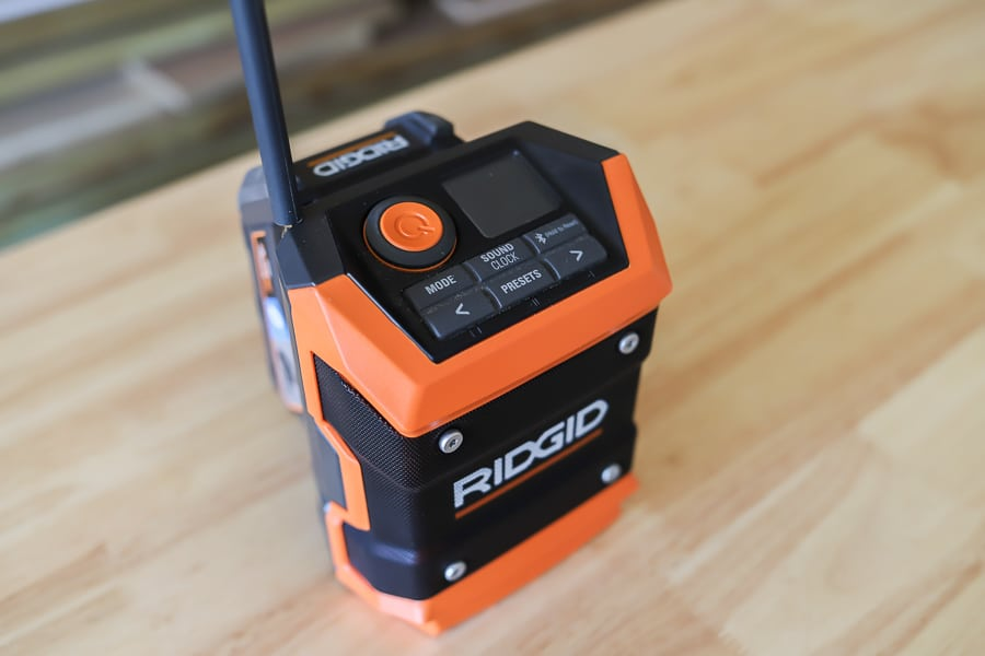 Ridgid compact bluetooth radio tool review