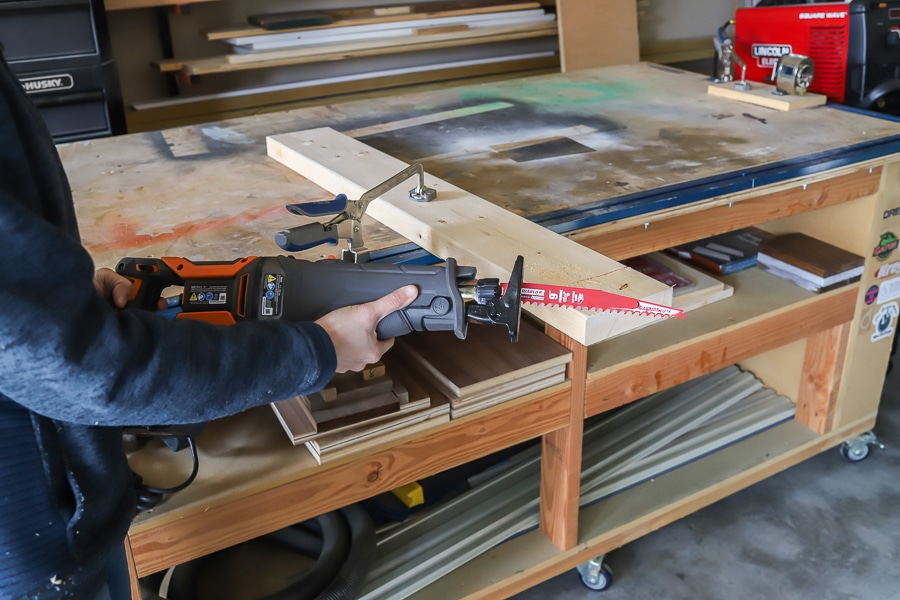 Diablo reciprocating saw blade and Ridgid Megamax tool review