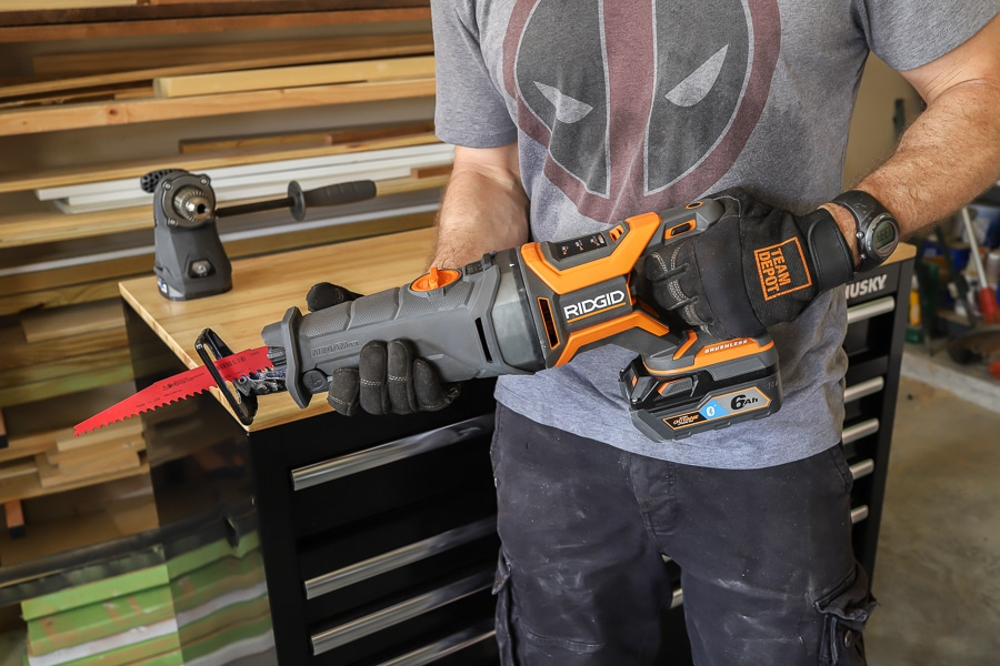 Ridgid Megamax And Diablo Reciprocating Saw Blades Tool Review