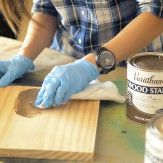 How to stain wood- finishing techniques for a professional looking project
