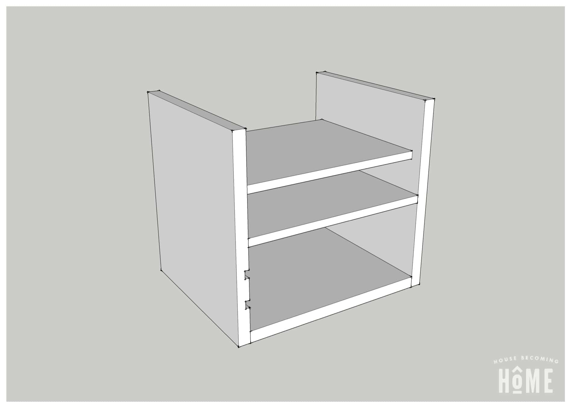Charging Station Plans Laptop Shelf