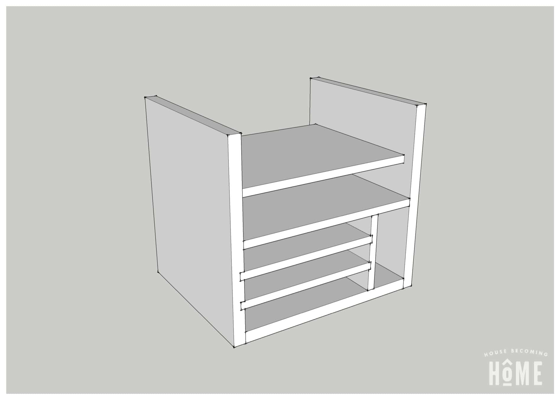 Charging Station Plans Small Shelves