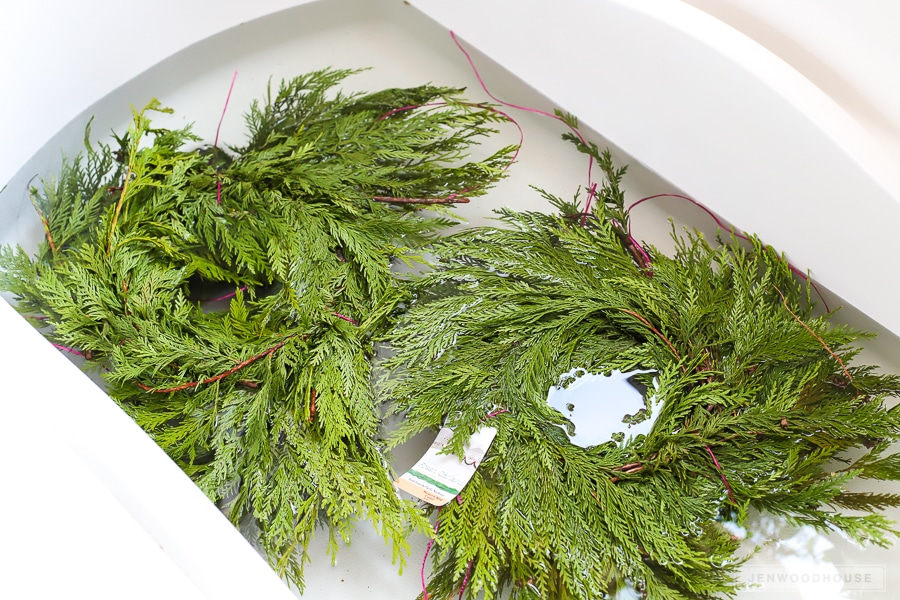 How To Make Fresh Cedar Garland Last Through The Holiday Season