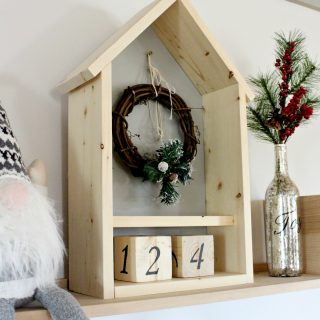 DIY Christmas Advent Calendar Countdown