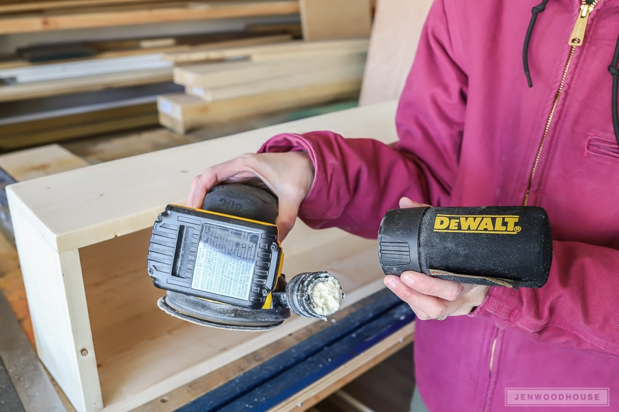 Dewalt cordless brushless orbital sander tool review