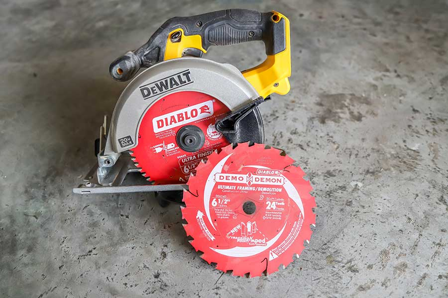 Diablo demo demon saw blade review