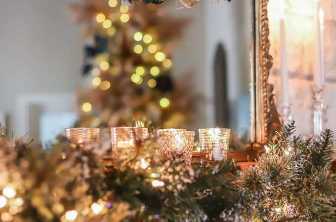 3 Ways to decorate your fireplace mantel for Christmas