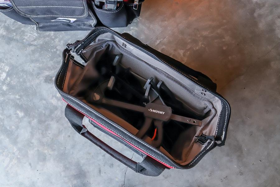 Husky rolling tool bag review