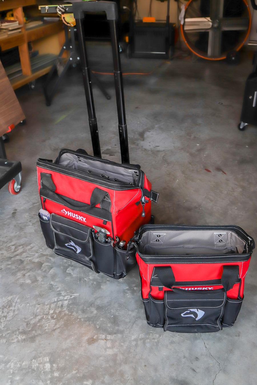 Tool review of Husky rolling tool bag