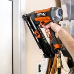 Ridgid Angled Finish Nailer and Portable Air Compressor Tool Review