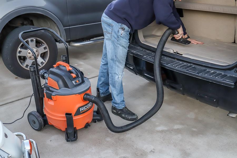 Ridgid shop vac tool review wet dry shop vacuum